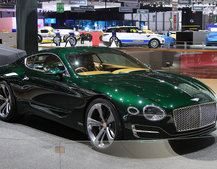 Bentley EXP 10 Speed 6 concept: Old and new collide in explosive design
