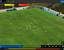 Football Manager Classic 2015 for iPad and Android finally adds the 3D match engine