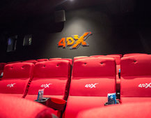 4DX cinemas add rain, snow and warm air for even more in-movie reality