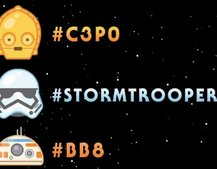 Twitter teamed up with Disney and Lucasfilm to launch exclusive Star Wars emoji