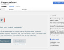 Google's new Password Alert Chrome extension keeps you safe from phishing scams