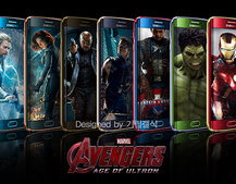 Iron Man Galaxy S6 edge is amazing, but here's what all the Avengers would look like as Samsung phones