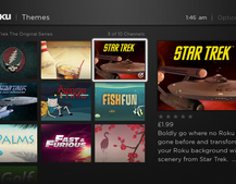 Now you can change your Roku UI with new themes available, including Star Trek