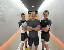 We train with the Brownlee brothers at the Human Performance Lab using the gadgets of the future