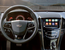 Cadillac's 2016 fleet will support Apple CarPlay and Android Auto
