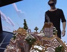 Microsoft HoloLens Minecraft shown off with stunning augmented reality 3D at E3 2015 (video)