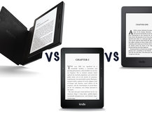 Amazon Kindle Oasis vs Kindle Voyage vs Kindle Paperwhite: What's the difference?