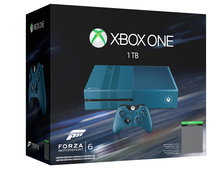 This is the Xbox One Forza Motorsport 6 Limited Edition console, up for pre-order