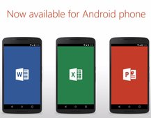 Microsoft Office officially launches for Android phone, includes three main apps