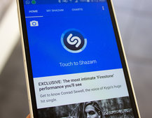 Now you can see the songs musicians are tagging using Shazam