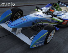 All-electric Formula E racing gets its videogame debut in Forza 6