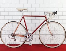 Ted Baker partnered with Quella for a retro-fantastic road bike collection