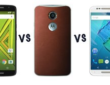 Moto X Play vs Moto X Style vs Moto X (2014): What's the difference?