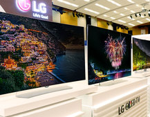 LG's IFA line-up includes four new 4K OLED TVs, most with HDR