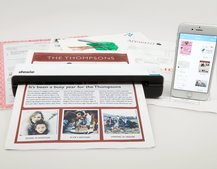 Digitise all of your important documents with the Doxie Go Wi-Fi scanner