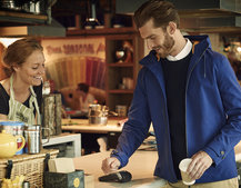 Lyle & Scott unveils a contactless payment jacket in cahoots with Barclays bPay