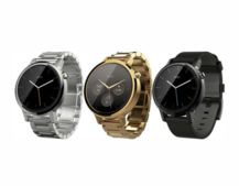 Latest Moto 360 2 render shows off fancy gold and silver variants
