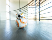 You can get your own working BB-8 rolling droid from Star Wars: The Force Awakens, thanks to Sphero