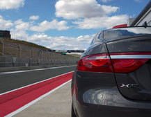 Pocket-lint Extreme: Thrashing a Jaguar XF around the track