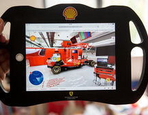 Shell and Ferrari team for incredible interactive F1 garage tour, works great on phone or tablet