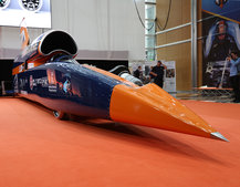 Bloodhound supersonic car in pictures: The 1,000mph British record-breaker shown in London