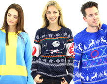 These are the best geek Christmas jumpers you'll want to wear this year
