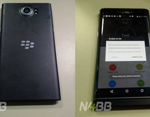 BlackBerry Priv leaks: 64-bit chip capable of 4K video using 18MP camera