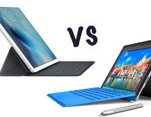 Apple iPad Pro vs Microsoft Surface Pro 4