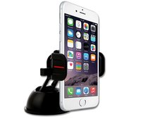 Go hands-free on the road with ExoMount Touch Car Mount