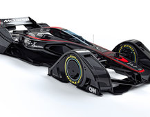 McLaren teases the future of Formula 1 cars, MP4-X in pictures