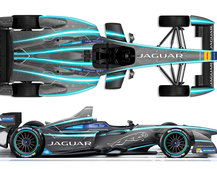 Jaguar returns to racing: Shows off stunning Formula E electric racecar