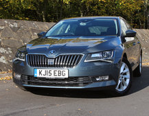 Skoda Superb review: At the business end