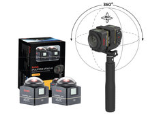 Kodak PixPro SP360 4K Action Cams can be paired up to film your 360 VR playground