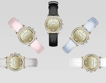 This is HP's Isaac Mizrahi smartwatch, with Swarovski crystals for just $250