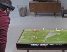One day you'll use Microsoft HoloLens to watch the Super Bowl