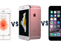 Apple iPhone SE vs iPhone 6S vs iPhone 6: What's the difference?