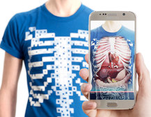 Virtuali-Tee AR t-shirts not for the squeamish, will take your kids on a fun, bloody ride