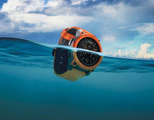 Nixon Mission Android Wear smartwatch is sport ready with 100m water resistance