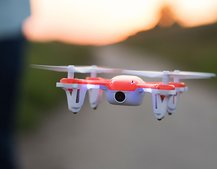 Capture video of your stunt flying fun with SKEYE Nano camera drone