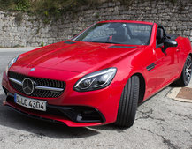 Mercedes-Benz SLC roadster first drive: New name, new engine, new limits