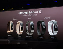 Huawei TalkBand B3 added to company's wearables line-up