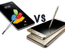 LG Stylus 2 vs Samsung Galaxy Note 5: What's the difference?