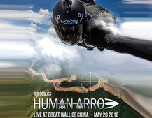 How to watch live GoPro HeroCast skydive flight over the Great Wall of China