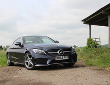 Mercedes-Benz C220d AMG Line Coupe first drive: Covering all bases