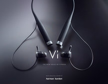 Vi is the world's first AI personal trainer, and she's in Harmon Kardon HR headphones