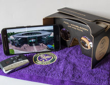 Jaguar wants you to Feel Wimbledon, with VR experience and Andy Murray japes