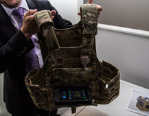Broadsword Spine is the wearable tech to power future warfighters