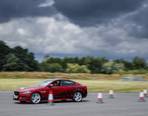 Jaguar demos new technology to assist future drivers