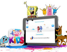 Sky Kids app now has offline viewing to help with school holidays travelling