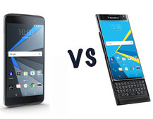 BlackBerry DTEK50 vs BlackBerry Priv: What's the difference?